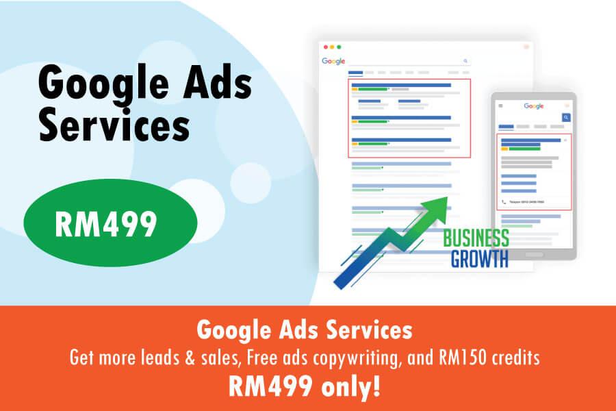 Google Ads Service Promotion