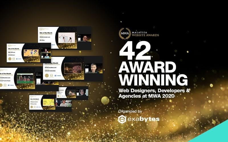 Malaysia website award 2020