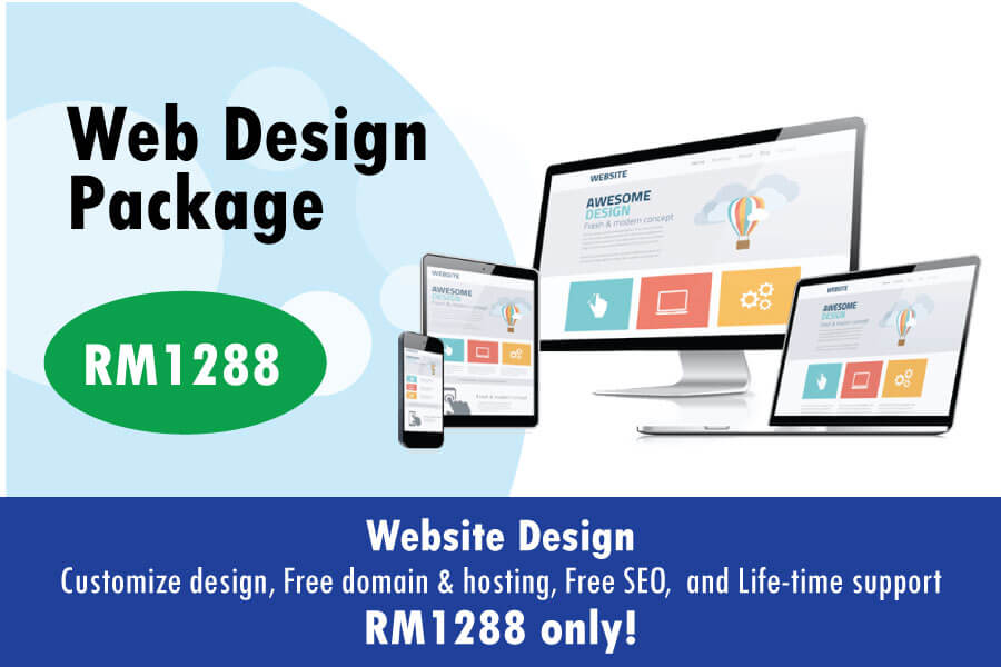 Web Design Johor Bahru Promotion